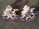 Notts and Derby Regimental Military Cufflinks